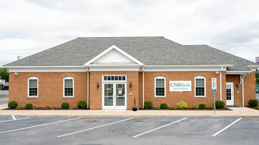 CNB Bank's Martinsburg location in Martinsburg, West Virginia.